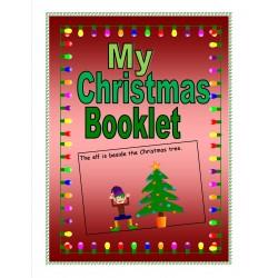 Mon livret de Noël (anglais langue seconde)