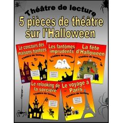 Cinq pièces sur l'Halloween (Théâtre de lecture)