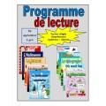 Programme de lecture allégée (septembre à juin)