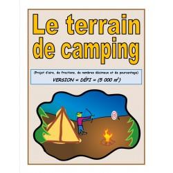 Projet de terrain de camping