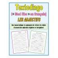 Textodingo (mad libs) - les adjectifs