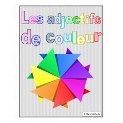 Les adjectifs de couleur