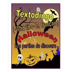 Textodingo (mad libs) - Halloween