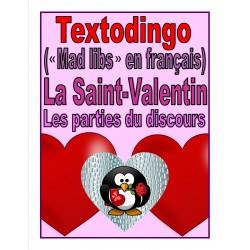 Textodingo (mad libs) - La Saint-Valentin