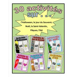 30 activités amusantes (6 thèmes)