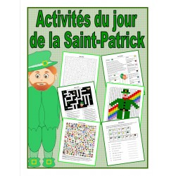 Activités du jour de la Saint-Patrick