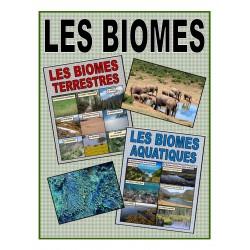 Les biomes terrestres et aquatiques