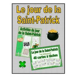 Le jour de la Saint-Patrick (cartes, activités)