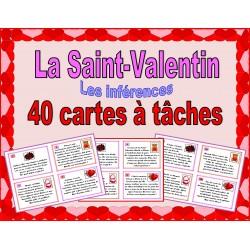 Saint-Valentin - cartes à tâches - inférences