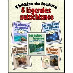 5 légendes autochtones (Théâtre de lecture)