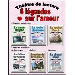 6 légendes sur l'amour (Théâtre de lecture)