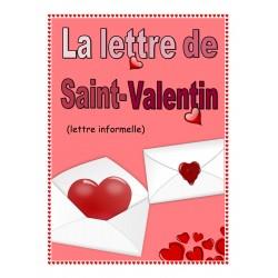 Projet d'écriture Saint-Valentin (lettre)