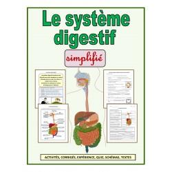 Le système digestif simplifié