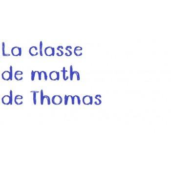 La classe de math de Thomas