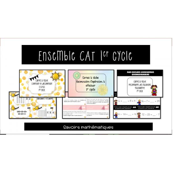 CAT nombres et opérations