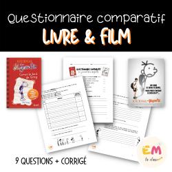 Questionnaire comparatif Film Journal dun dégonflé