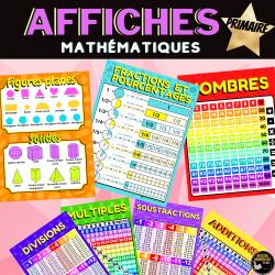 Affiches mathématiques -ARITHMÉTIQUE-GÉOMÉTRIE