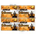 HALLOWEEN- 5 Cartes d'Halloween à donner- OCTOBRE
