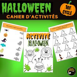 Cahier d'activités Halloween - Octobre- 1er CYCLE