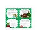 Cartes d'écriture de Noël