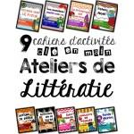 KIT complet des 45 Ateliers de littératie