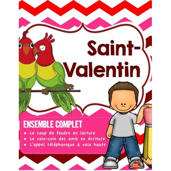 *Saint-Valentin en Littératie