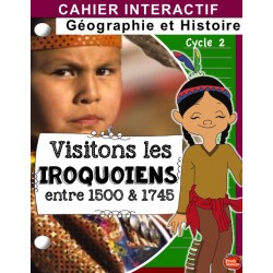 Iroquoiens Nouvelle-France / Cahier interactif