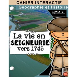 Cahier interactif: Les seigneuries univers social