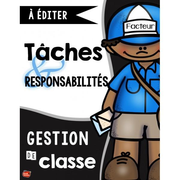 Gestion des responsabilités en classe