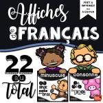 *Affiches de français