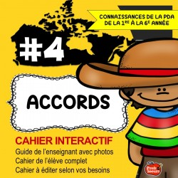 Cahier Interactif: Nouvel accord
