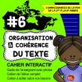 Cahier interactif #6: Organisation du texte