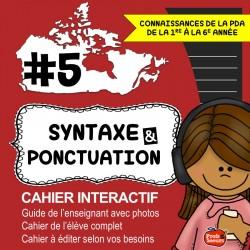 Cahier interactif: Nouvelle année de français