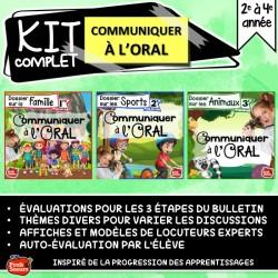 *Communication orale / exposé / rentrée