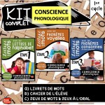Kit complet Conscience phonologique