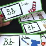 *Conscience phonologique 1: L'alphabet