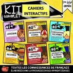 KIT complet des 6 Cahiers interactifs