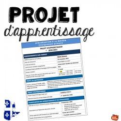 Gabarit pour projet d'apprentissage pour la DEM