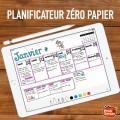 Planificateur digital Agenda à distance