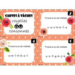 Voyelles-consonnes