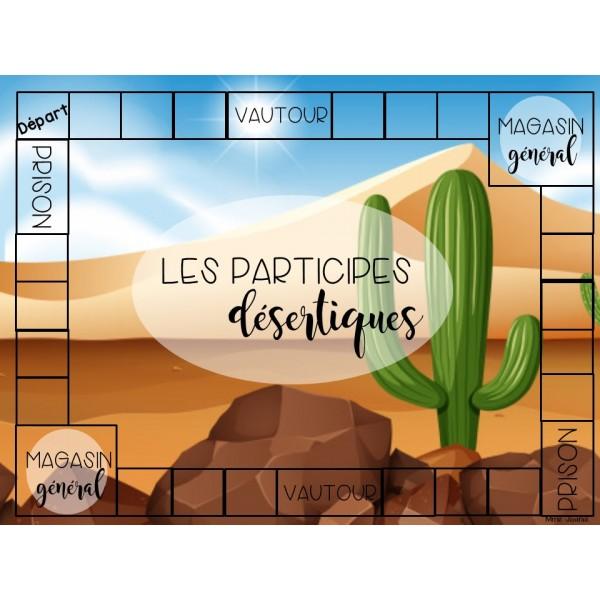 Les participes désertiques