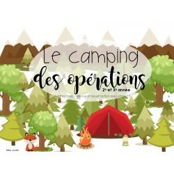 Le camping des opérations