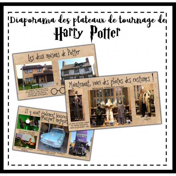 Plateaux de tournage des films Harry Potter