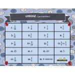 Cartes à tâches: Les fractions 2