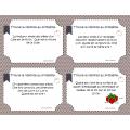 Cartes à tâches: Problèmes sur la mesure et ...