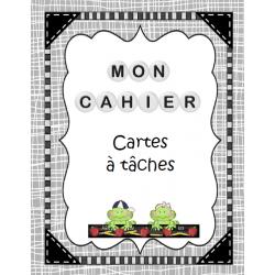 Mon cahier de cartes à tâches