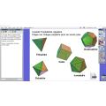 Les polyèdres réguliers - Activités sur TBI