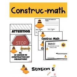Chantier de construction - Construc-math