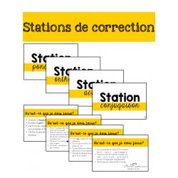 Stations de correction