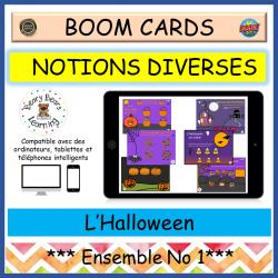 BOOM Cards™ Ensemble L'Halloween 1